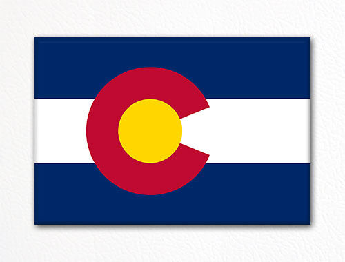 Colorado State Flag Fridge Magnet
