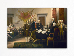 Declaration of Independence Signing Fridge Magnet
