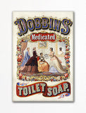 Dobbins' Toilet Soap Advertisement Fridge Magnet
