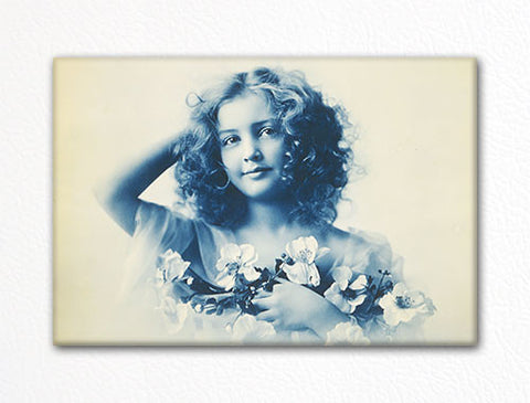Editha William Henry Jackson Photo Fridge Magnet