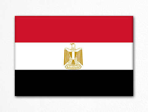 Flag of Egypt Egyptian Flag Fridge Magnet
