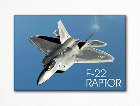 F-22 Raptor USAF Aircraft Fridge Magnet