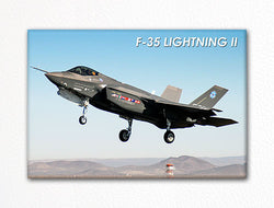 F-35 Lightning II Fridge Magnet