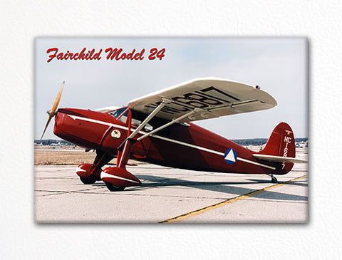 Fairchild Model 24 Fridge Magnet