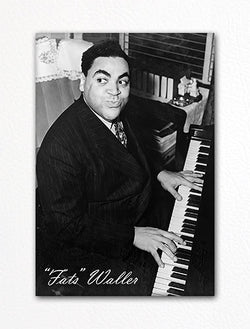 "Thomas ""Fats"" Waller at the Piano Photo Fridge Magnet"