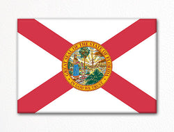 Florida State Flag Fridge Magnet