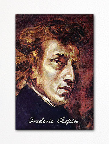 Frederic Chopin Portrait Fridge Magnet
