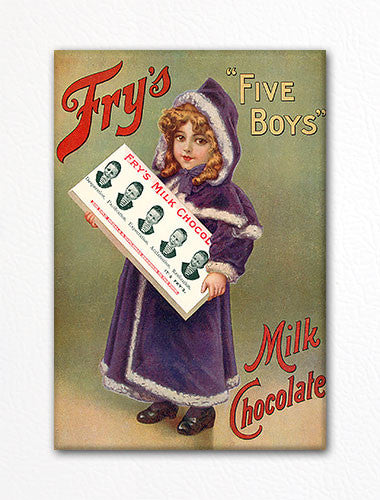 Fry's Milk Chocolate Advertisement Fridge Magnet