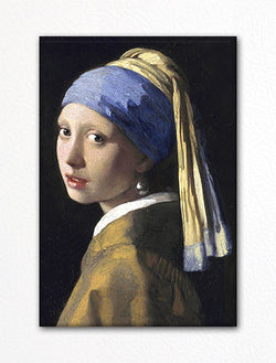 Vermeer Girl With a Pearl Earring Fridge Magnet
