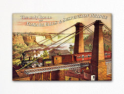 Great Western Railway Advertisement Fridge Magnet