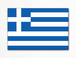 Flag of Greece Greek Flag Fridge Magnet