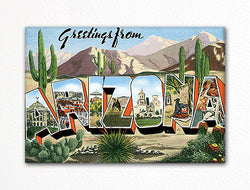 Greetings from Arizona Fridge Magnet