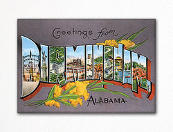 Greetings from Birmingham Alabama Fridge Magnet