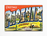 Greetings from Phoenix Arizona Fridge Magnet