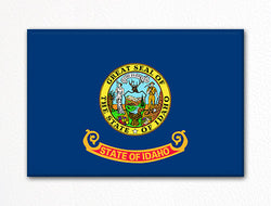 Idaho State Flag Fridge Magnet