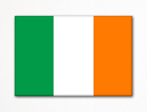 Flag of Ireland Irish Flag Fridge Magnet