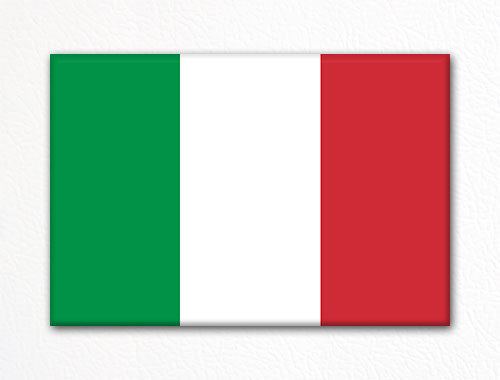 Flag of Italy Italian Flag Fridge Magnet