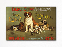 New England Kennel Club Bench Show Fridge Magnet
