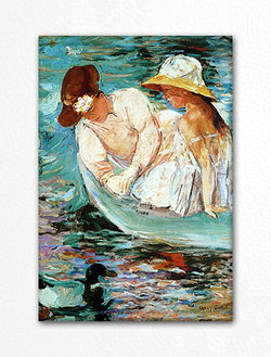 L'Ete Summer Time Mary Cassatt Fridge Magnet