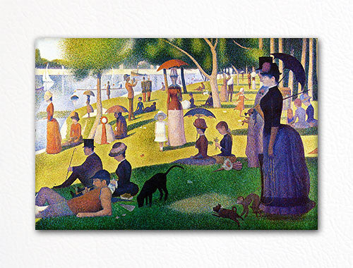 Afternoon on the Island of La Grande Jatte Seurat Fridge Magnet