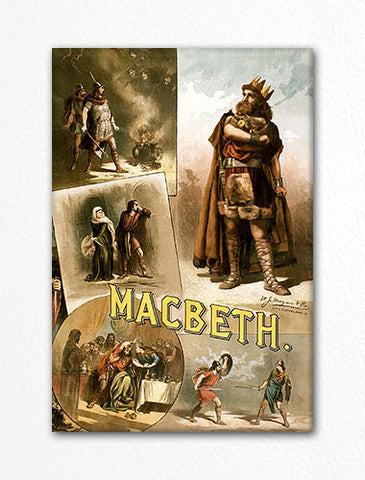 MacBeth Poster Fridge Magnet