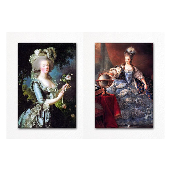 Marie Antoinette Fridge Magnet Set