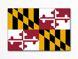 Maryland State Flag Fridge Magnet