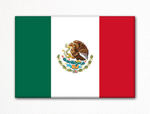 Flag of Mexico Mexican Flag Fridge Magnet