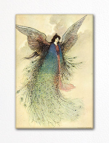 The Moon Maiden Warwick Goble Fridge Magnet