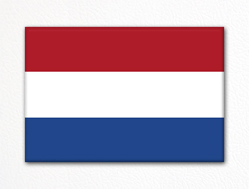 Flag of the Netherlands Dutch Flag Fridge Magnet