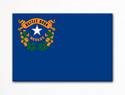 Nevada State Flag Fridge Magnet