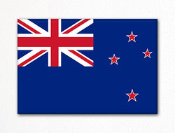 Flag of New Zealand Kiwi Flag Fridge Magnet