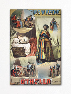 Othello Poster Fridge Magnet