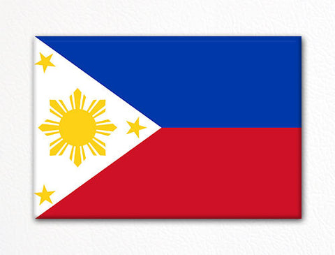 Flag of the Philippines Philippine Flag Fridge Magnet