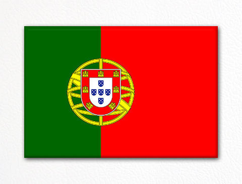 Flag of Portugal Portuguese Flag Fridge Magnet