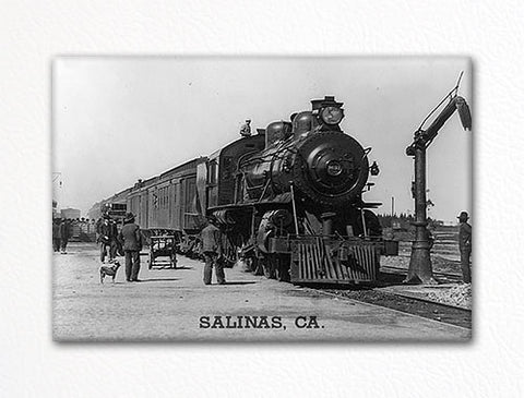 Salinas Railroad Station Photo Fridge Magnet
