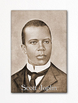 Scott Joplin Photograph Fridge Magnet