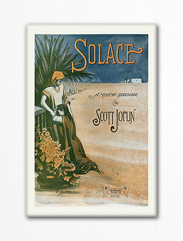 Solace Sheet Music Cover Fridge Magnet