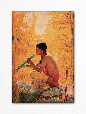 Song of the Aspen Fridge Magnet