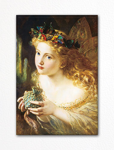 Take the Fair Face of Woman Sophie Anderson Fridge Magnet