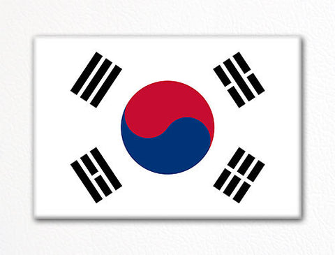 Flag of South Korea South Korean Flag Fridge Magnet