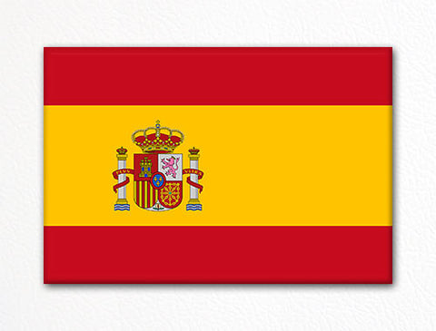 Flag of Spain Spanish Flag Fridge Magnet
