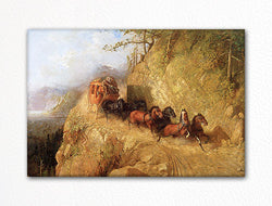 Staging in California Fridge Magnet
