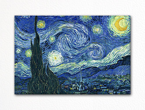 The Starry Night Vincent van Gogh Fridge Magnet