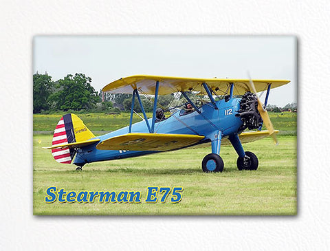 Stearman E75 Fridge Magnet