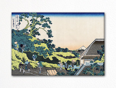 Sundai Edo Woodblock Fridge Magnet