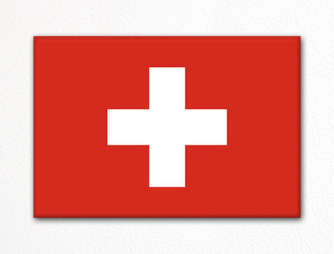 Flag of Switzerland Swiss Flag Fridge Magnet