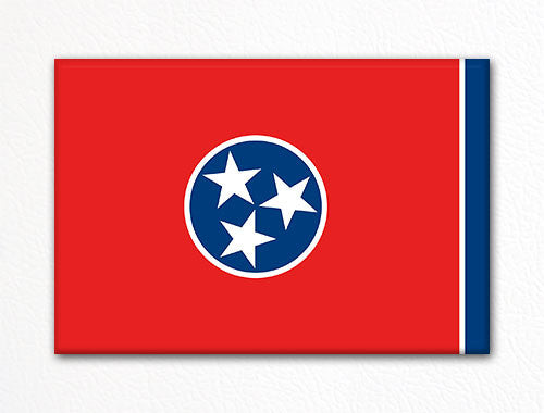 Tennessee State Flag Fridge Magnet