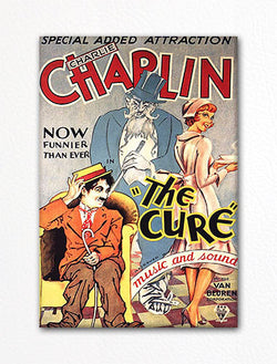 The Cure Vintage Movie Poster Fridge Magnet
