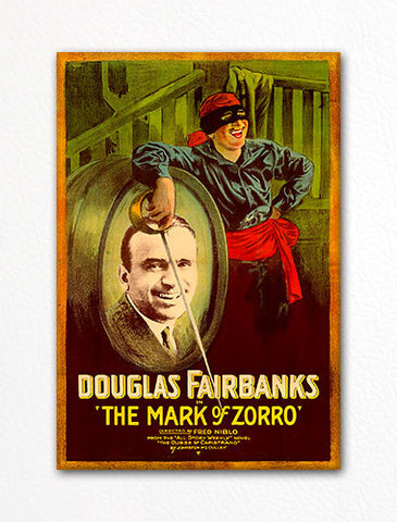 The Mark of Zorro Movie Poster Fridge Magnet